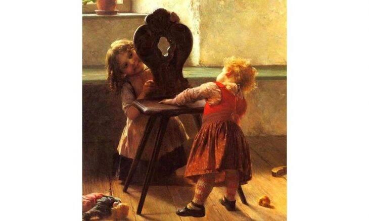 Tela de Georgios Jakobides, 1895