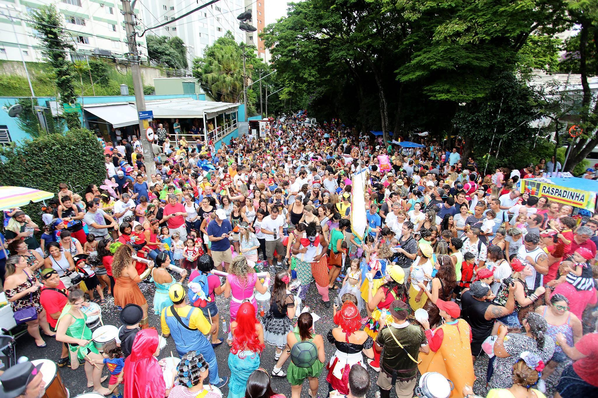 carnaval criancas