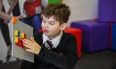 Lego está desenvolvendo peças para crianças cegas / Foto: Divulgação
