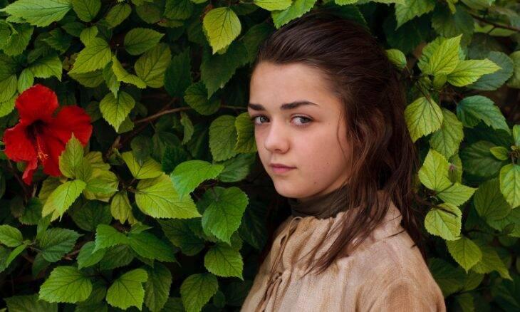 "Arya Stark (Maisie Williams) em ""Game of Thrones"" / Foto: HBO"