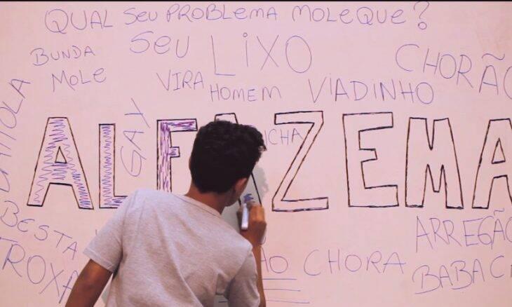 """Teaser do curta-metragem """"Alfazema"""", sobre masculinidade tóxica / Foto: reprodução"""