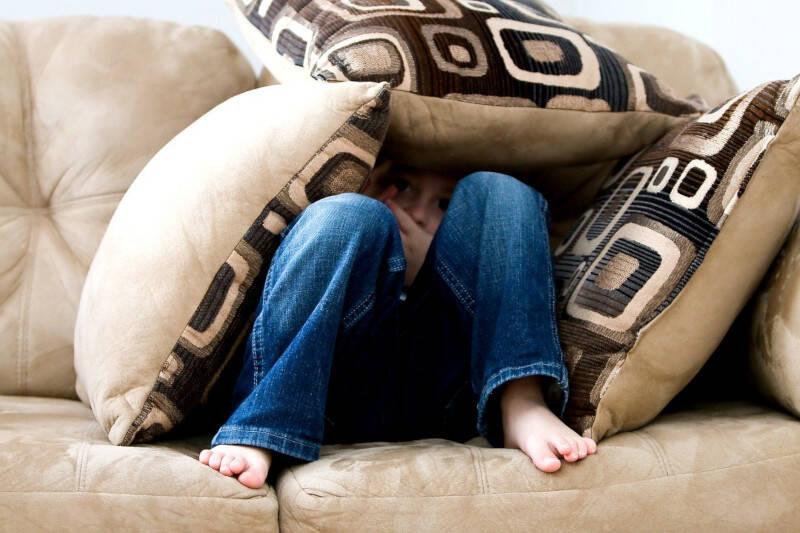 criança medo medos comuns da infância