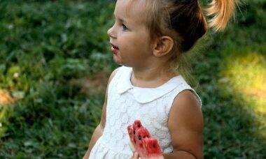 menina melancia imunidade infantil