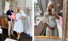 Ex-Miss Mundo comemora gravidez natural de gêmeos depois de 14 abortos