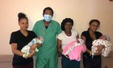 Três irmãs dão à luz no mesmo dia, com o mesmo médico nos EUA