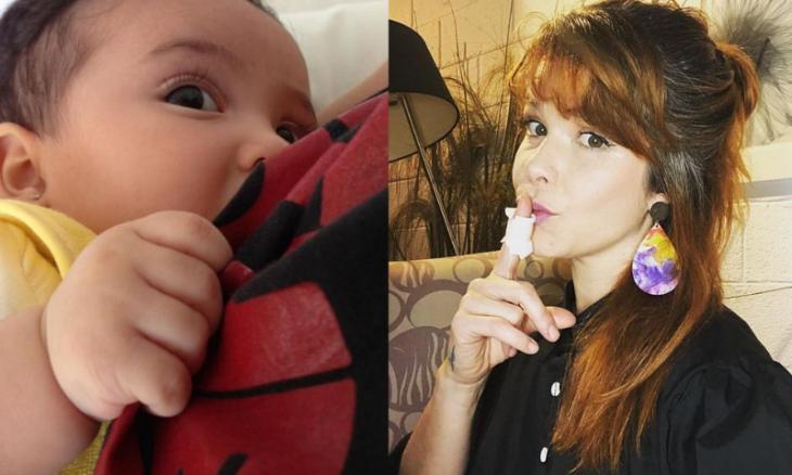 Samara Felippo desabafa sobre dor na amamentação e depressão pós-parto