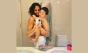 """Bela Gil reposta foto com filho excluída pelo Instagram e desabafa contra """"haters"""""""