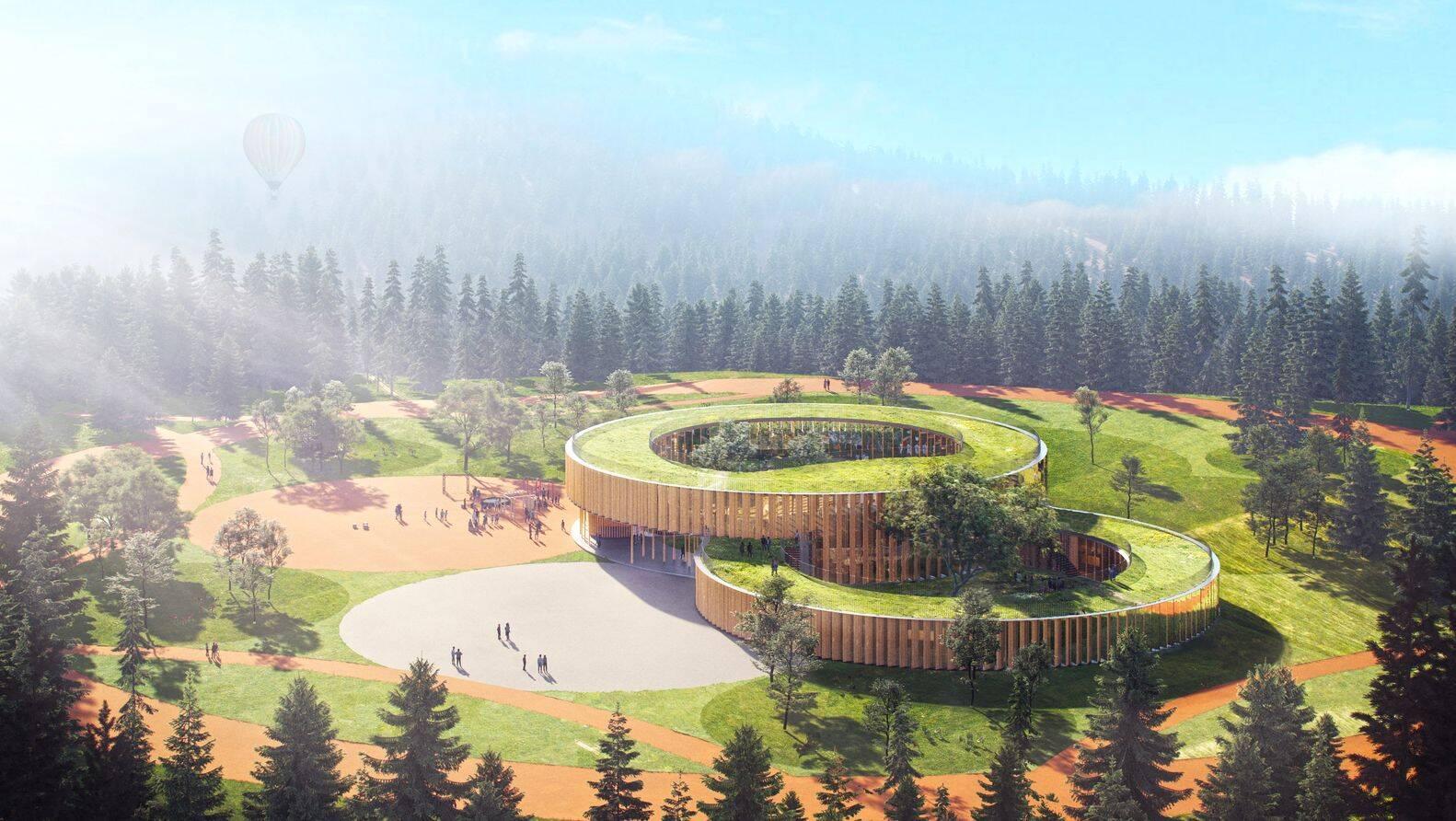 Projeto apresenta escola integrada à natureza no pós-pandemia
