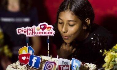 Youtuber e digital influencer Millena Santo grava seu primeiro hit Passinho da Amizade. Foto: Divulgação