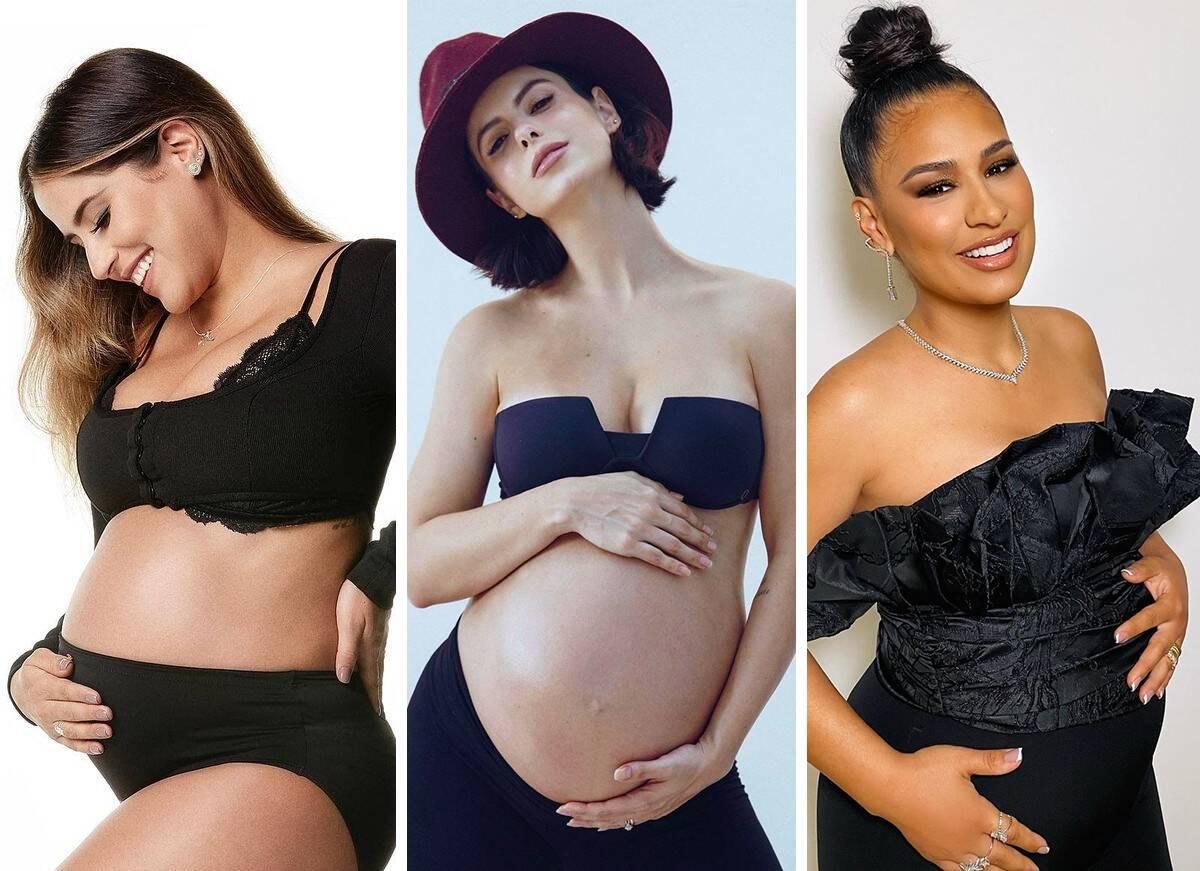Desejos de grávidas: Famosas contam suas vontades na gestação